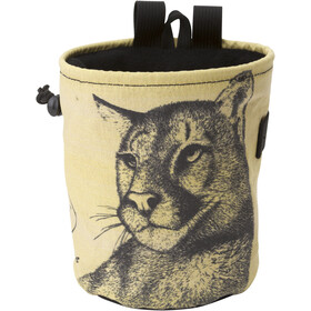Metolius Wildlife Comp Chalk Bag cougar